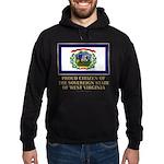 West Virginia Proud Citizen Hoodie (dark)