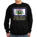 West Virginia Proud Citizen Sweatshirt (dark)