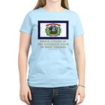 West Virginia Proud Citizen Women's Light T-Shirt