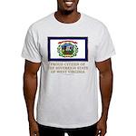 West Virginia Proud Citizen Light T-Shirt