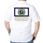 West Virginia Proud Citizen Golf Shirt