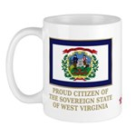 West Virginia Proud Citizen Mug