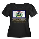 West Virginia Proud Citizen Women's Plus Size Scoo