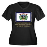 West Virginia Proud Citizen Women's Plus Size V-Ne