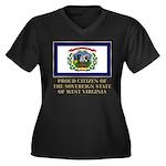 West Virginia Proud Citizen Women's Plus Size V-Ne