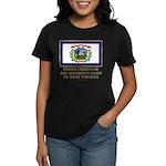West Virginia Proud Citizen Women's Dark T-Shirt
