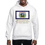 West Virginia Proud Citizen Hooded Sweatshirt
