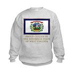 West Virginia Proud Citizen Kids Sweatshirt