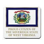 West Virginia Proud Citizen Mousepad