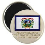 West Virginia Proud Citizen Magnet