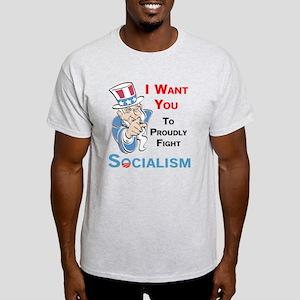 Fight Socialism Light T-Shirt