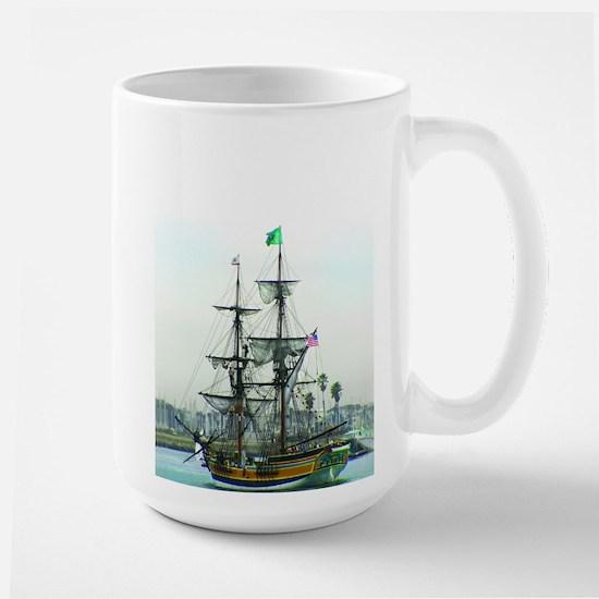 Tall Ships Large Mug