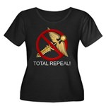 Repeal Obamacare Women's Plus Size Scoop Neck Dark
