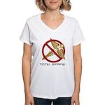 Repeal Obamacare Women's V-Neck T-Shirt