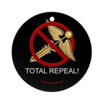 Repeal Obamacare Ornament (Round)