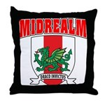 Midrealm Collegiate Throw Pillow