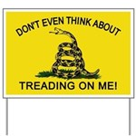 Gadsden Flag updated Yard Sign