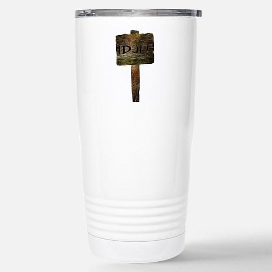 Idjit Stainless Steel Travel Mug