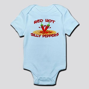 Red Hot Silly Peppers Infant Bodysuit