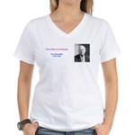 Leo Sowerby Women's V-Neck T-Shirt