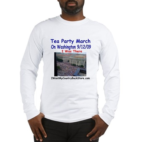 Tea Party Section Long Sleeve T-Shirt