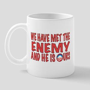 WE HAVE MET THE ENEMY Mug