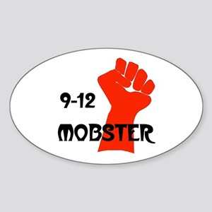 OUR MOB KEEPS GROWING Oval Sticker