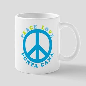 Peace Love Punta Cana Mug