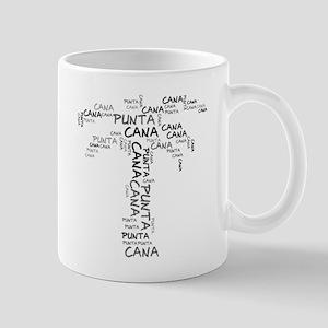 Word Up Dark Punta Cana Palm Mug