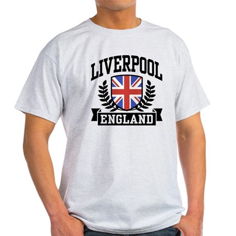 Liverpool England Light T-Shirt