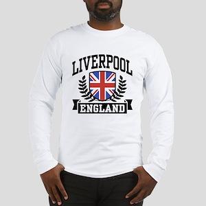 Liverpool England Long Sleeve T-Shirt