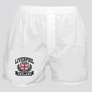 Liverpool England Boxer Shorts