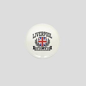 Liverpool England Mini Button
