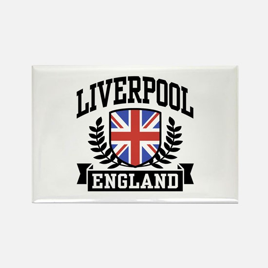 Liverpool England Rectangle Magnet