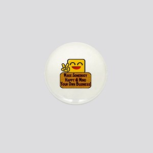 Mind Your Business Mini Button