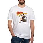 Velda:Girl Detective fitted T-Shirt