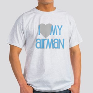 I Love My Airman Light T-Shirt