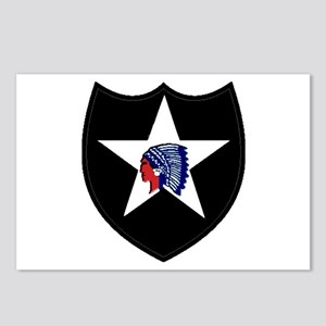 2nd Infantry Division Postcards (Package of 8)