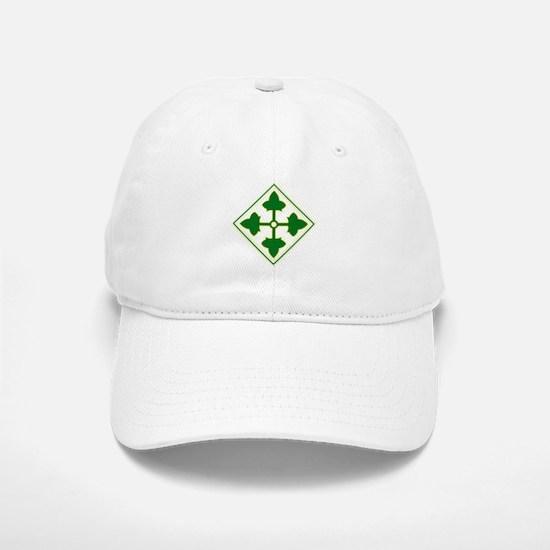 Fourth Infantry Div. Baseball Baseball Cap