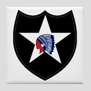2nd Infantry Division Tile Coaster