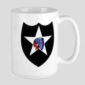 2nd Infantry Division Large Mug