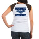 Get Your Eagle On Women's Cap Sleeve T-Shirt