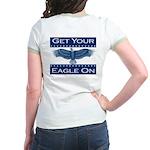 Get Your Eagle On Jr. Ringer T-Shirt
