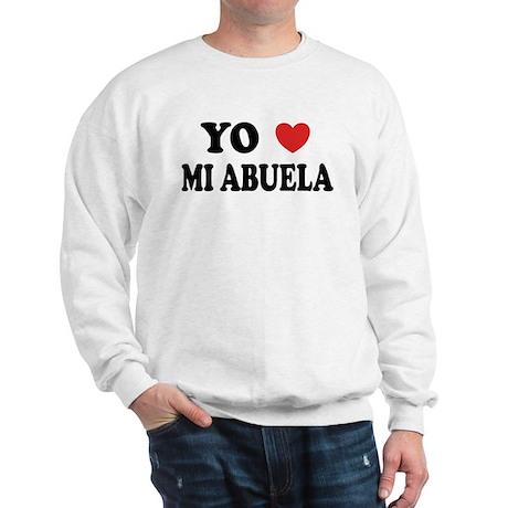 Yo Corazon Mi Abuela Sweatshirt