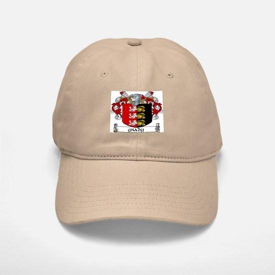 Grady Coat of Arms Baseball Baseball Baseball Cap