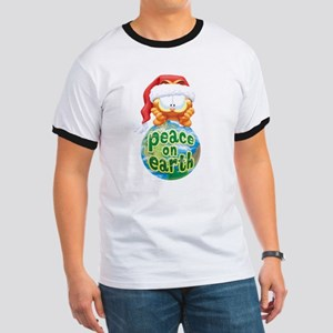 Peace On Earth Garfield Ringer T