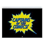 Captains of the Comics 12-Month Calendar