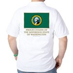 Washington Proud Citizen Golf Shirt