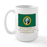 Washington Proud Citizen Large Mug