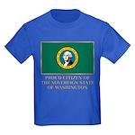 Washington Proud Citizen Kids Dark T-Shirt